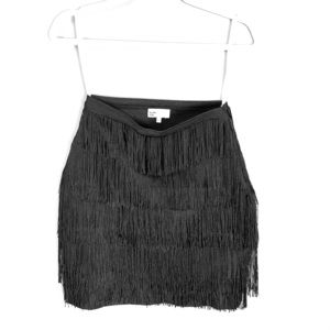 BY THE WAY Frill Mini Skirt